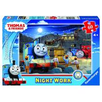 Jigsaw Puzzle - Ravensburger Glow Trabajo Thomas Noche En El