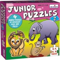 Primeros Años Puzzle - Rompecabezas Creativo Junior 2 Apren