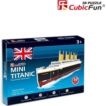 Rompecabezas 3d Titanic - Cubicfun