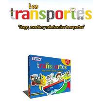 T040 Transportes Rompecabeza Educativo Preescolar 18m+ Totte