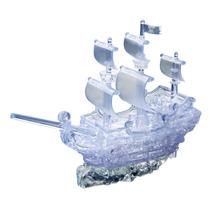 3d Puzzle - Barco Pirata Crystal Enclavamiento 3 Dimensiones