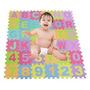 Wallcart Niños Niños 36x Alfabeto Y Números De Espuma Suave