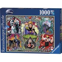 Rompecabezas Ravensburger 1000 Piezas Brujas De Disney 19252