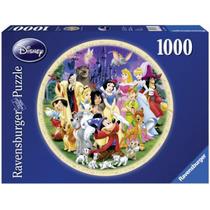 Ravensburger Rompecabezas Mundo Disney 1000 Pz Circular