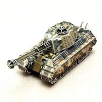 Juguete Armable De Tanque Militar Con Motor De Cuerda