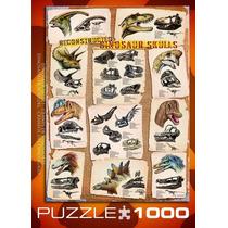 Jigsaw Puzzle - Cráneos De Dinosaurios Reconstruidos 1000 P