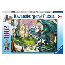 Rompecabezas Ravensburger 100 Piezas Dragón 10876 Colibri