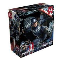 Rompecabezas Lenticular Grande Capitán América
