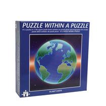 Jigsaw Puzzle - Planeta Tierra En Dos En Uno Kids Fun Juego
