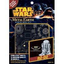 R2-d2 Rompecabezas 3d Fascinations Metal Earth Star Wars