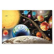 Sistema Solar Rompecabezas De Piso 48 Pzas