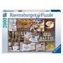 Rompecabezas Ravensburger 2000 Piezas Café A Todas Horas
