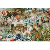 Puzzle Ravensburger 3000 Piezas Collage Oceania 17068 Games