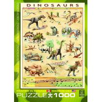 Jigsaw Puzzle - Dinosaurios 1000 Piece Eurographics Rompecab