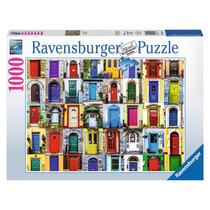 Rompecabezas Ravensburger 1000 Piezas Puertas Del Mundo