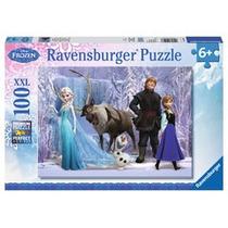 Jigsaw Puzzle - Ravensburger Disney Congelado Xxl 100 Piezas