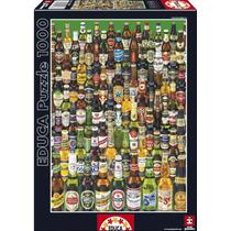 Rompecabezas Puzzle Educa 1000 Piezas Cervezas 12736 Colibri