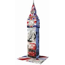 Ravensburger 3d Rompecabezas Reloj Big Ben 216 Pz. Flag Ed