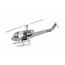 Rompecabezas 3d Metálico, Helicóptero Militar