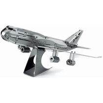 Rompecabezas 3d Avion Boeing 747 En Metal Fascinations