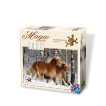 Jigsaw Puzzle - D-juguetes Haflingers 3 Magia De Los Caballo