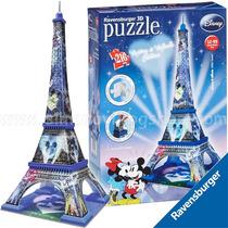 Rompecabezas 3d Ravensburger Torre Eiffel Mickey Mouse 12570