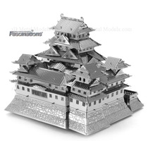 Rompecabezas Metalico 3d Castillo Himeji Japon- Fascinations