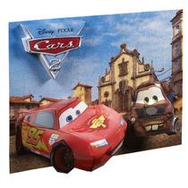 Rompecabezas 3d Cars 2 Mega Puzzles Rayo Y Mate Disney Dy150