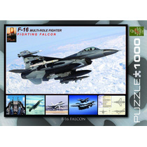Jigsaw Puzzle - F-16 Fighting Falcon 1000 Pedazo