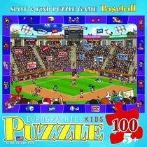 Jigsaw Puzzle - Spot Y Encuentra Baseball 100 Piezas