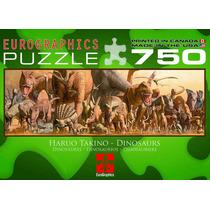 Jigsaw Puzzle - Dinosaurios Por Haruo Takino 750 Piezas
