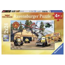 Jigsaw Puzzle - Ravensburger Planes Niños Disney 2 Familia