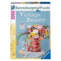 Rompecabezas Ravensburger 1000 Piezas Flores Vintage 19505