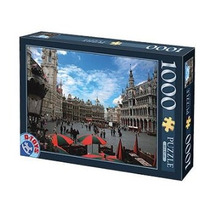 Jigsaw Puzzle - D-juguetes Famosa Lugares Bruselas Bélgica