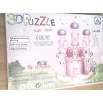 Castillo Rosa 3d Puzzle Toy