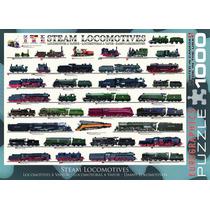 Jigsaw Puzzle - Locomotoras De Vapor 1000 Eurographics Piece