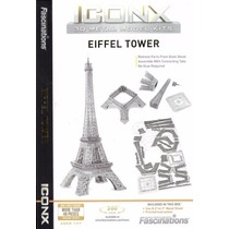 Rompecabezas 3d Torre Eiffel Fascinations Iconx Icx011