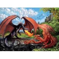 Puzzle Ravensburger 200 Piezas Duelo De Dragones 12708 Games