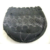 Antiguo Bolso De Chaquiras Metálicas Para Dama