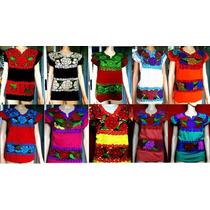 Blusas Artesanales Bordadas A Mano En Chiapas