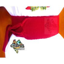 Hermosas Fajas De Telar De Cintura Para Blusas De Chiapas!