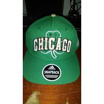 Adidas Snapback Chicago De Broche Nueva Original