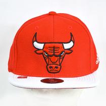 Chicago Bulls Adidas Gorra 100% Original