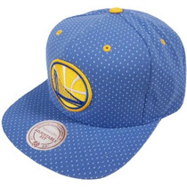 Gorra Golden State Mitchell And Ness Snapback 100% Original