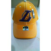 Gorra Adidas Lakers Nba Cerrada Original Talla S/m
