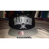 Gorra Snapback Mitchell And Ness Raiders Oakland Nfl