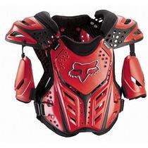 Peto Protector Fox Race Frame Rojo Talla M Para Motociclista