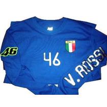 Playera Valentino Rossi Italia Motogp 46