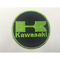 Parche Kawasaki Green Parche Biker