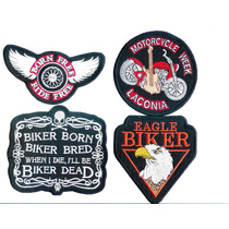 Parches Bordados Motos,bikers,choppers Excelente Calidad